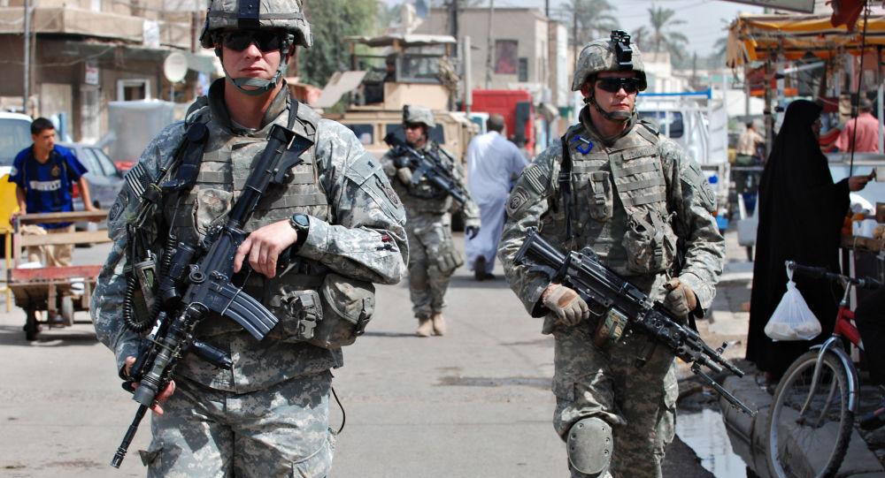 美軍在伊拉克
