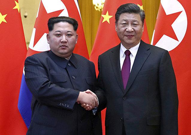 習近平在朝鮮受到雙重禮遇:朝方舉辦兩次歡迎儀式