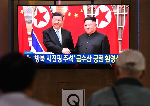 習近平:中國準備在安全問題上幫助朝鮮