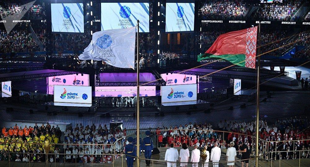 第二屆歐洲運動會在明斯克開幕