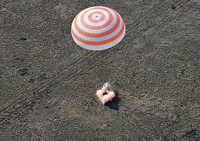 「聯盟MS-11」號載人飛船著陸