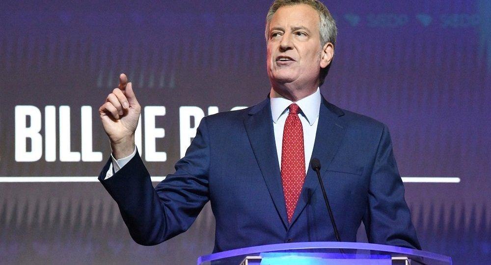 美國紐約市長比爾·德布拉西奧