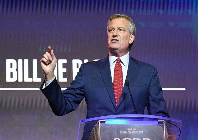 紐約市長比爾∙德∙布拉西奧
