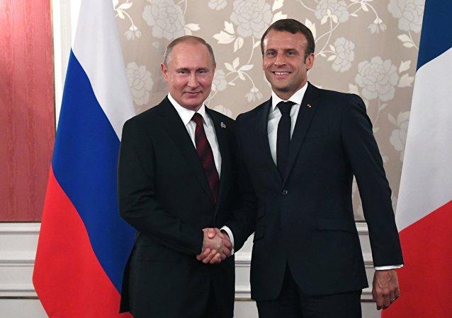 普京:俄法關係對維繫歐洲安全起到重要作用