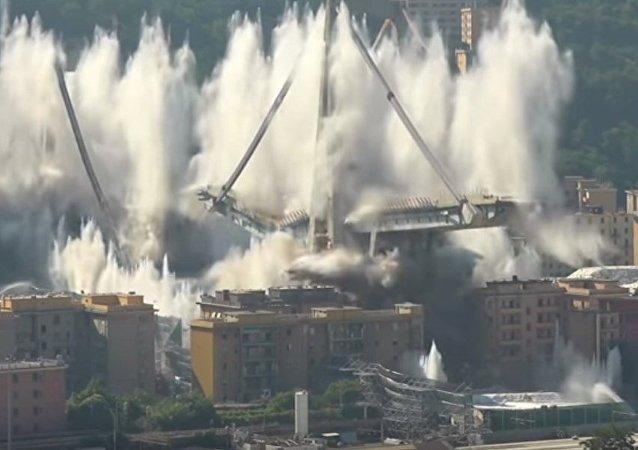 熱那亞拆除「殺手橋」