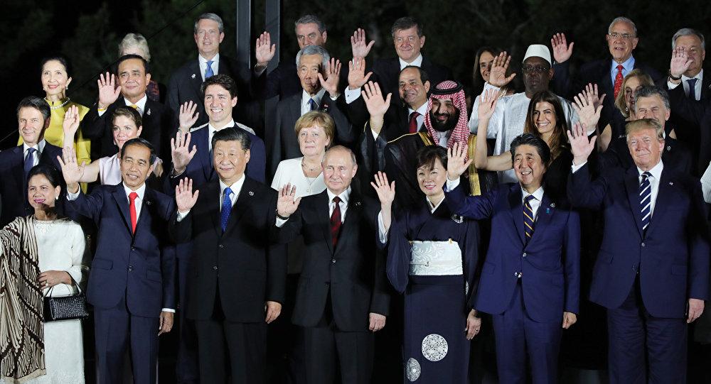 G20峰會首日關鍵時刻