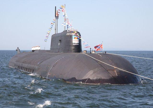 「鄂木斯克」號核潛艇