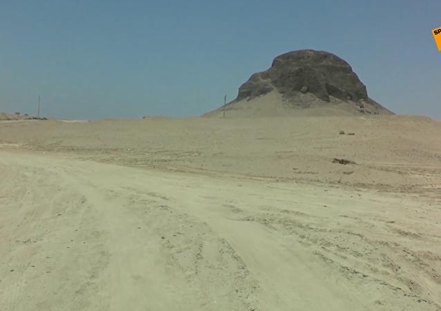 辛努塞爾特二世金字塔正式向遊客開放