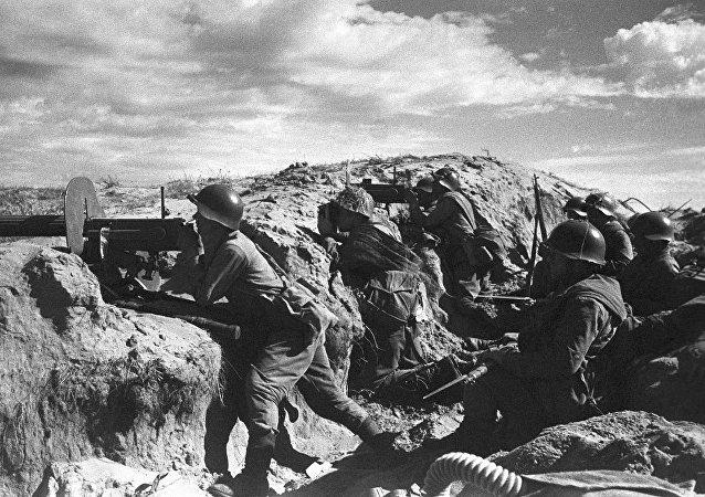 哈拉哈河戰役中的蘇聯紅軍