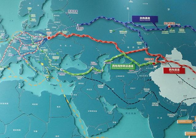 中國成都市在一帶一路倡議下積極發展與俄羅斯的鐵路運輸業務