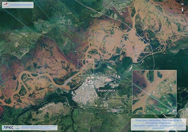 俄緊急情況部:伊爾庫茨克州洪災4名失蹤者幸存
