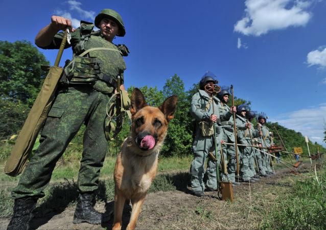俄羅斯工兵(資料圖片)