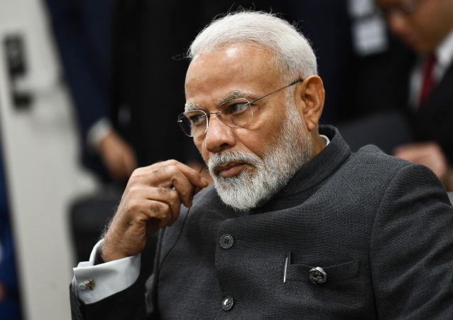 莫迪數月內將首次向印度民眾發表講話