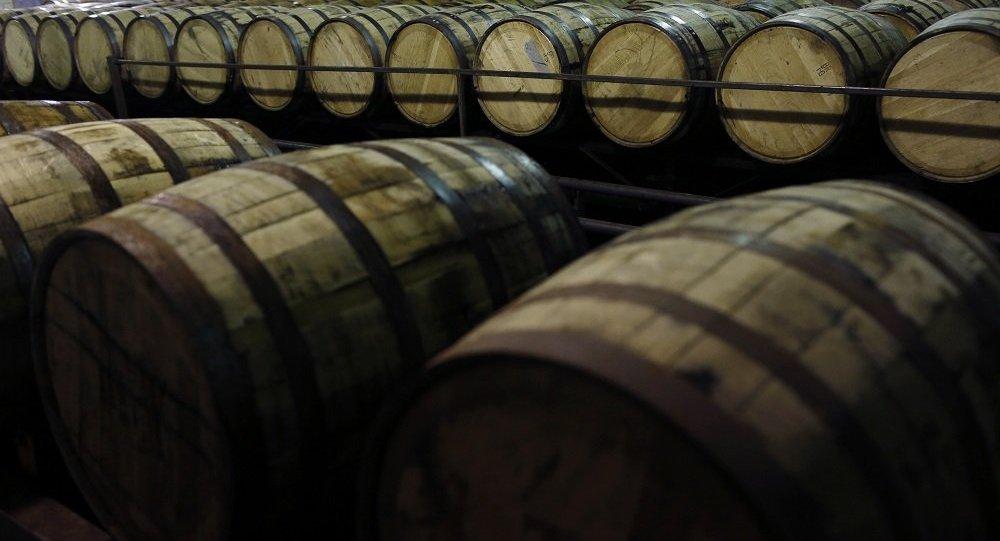 美國肯塔基州金賓威士忌倉庫起火 4.5萬桶酒付之一炬