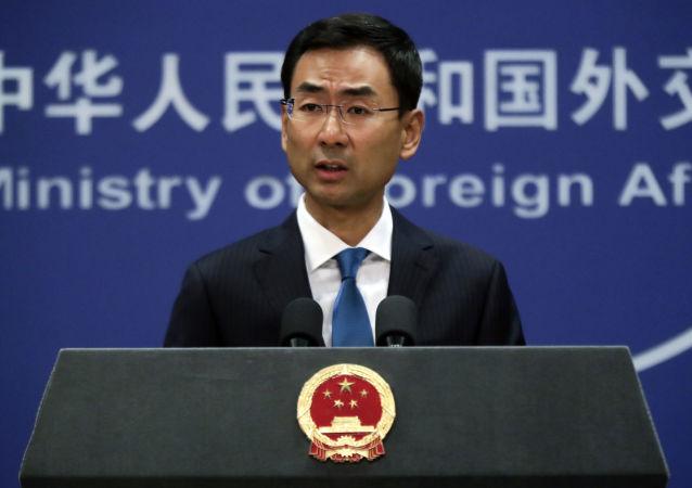 中國外交部發言人耿爽