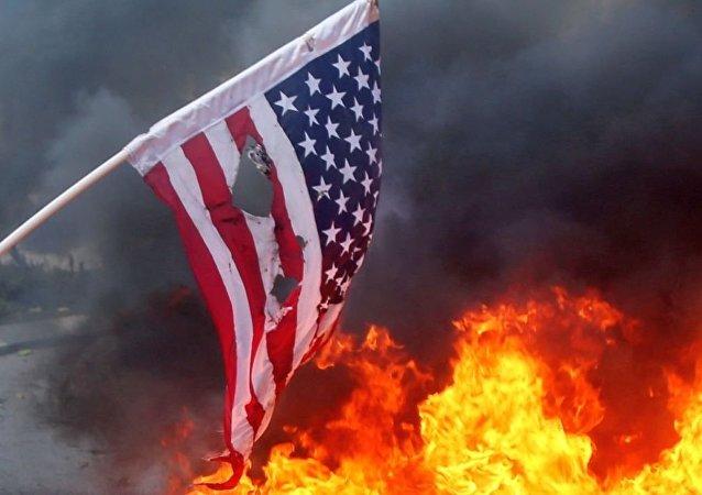 美國旗焚燒