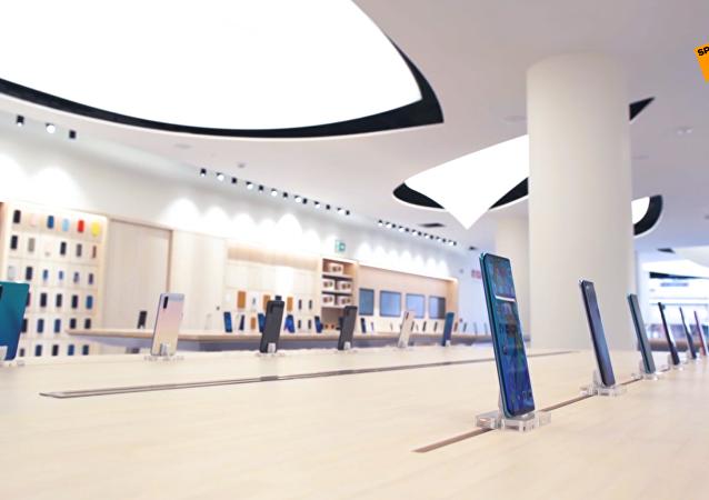 華為在馬德里市中心設立首家旗艦店