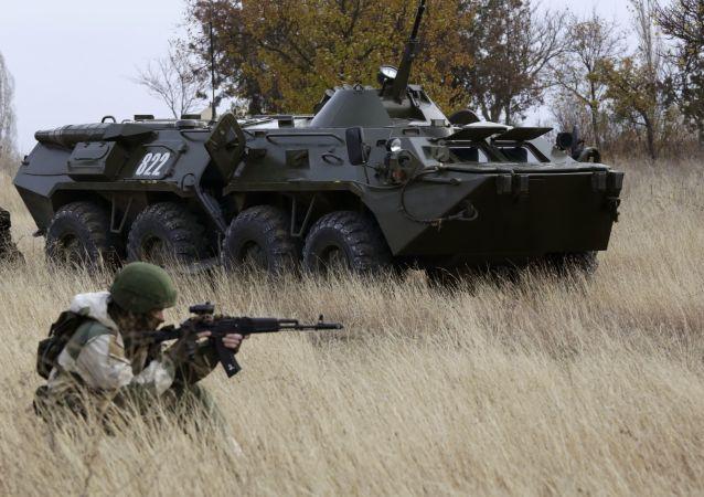 俄中邊防人員舉行聯合演習