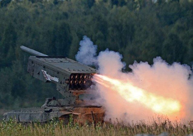 TOS-1A 「燃燒太陽」重型火焰噴射系統