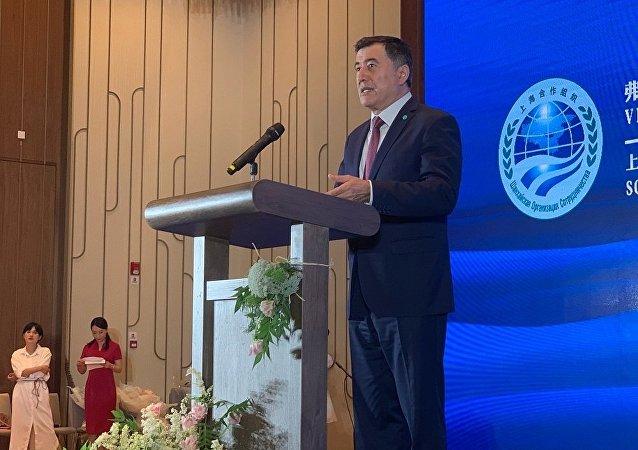 上海合作組織秘書長弗拉基米爾·諾羅夫