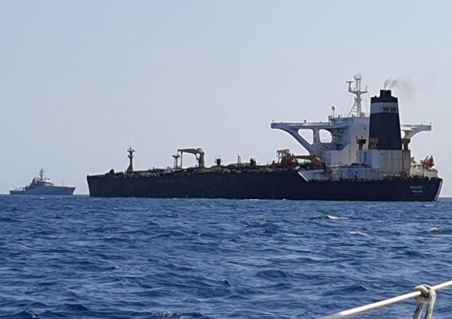 伊朗格蕾絲一號(Grace1)油輪