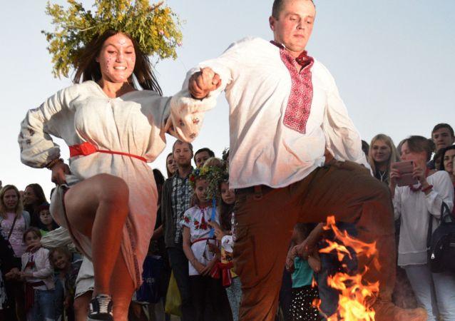烏克蘭慶祝伊凡·庫帕拉節