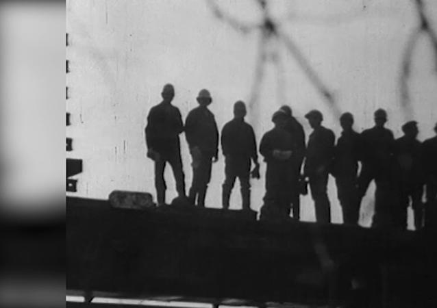 蘇聯貝阿鐵路 開工45週年
