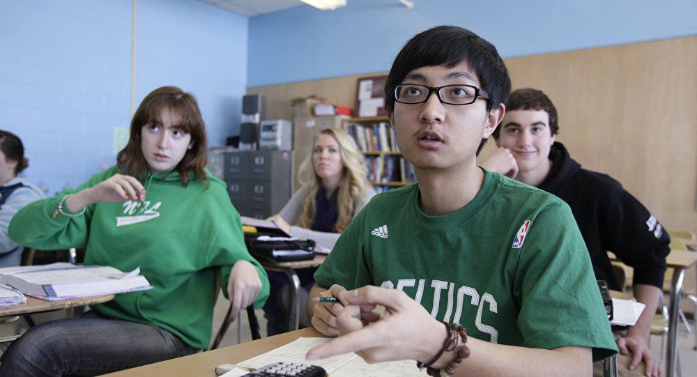 中國學生參賽「歐亞未來領袖」