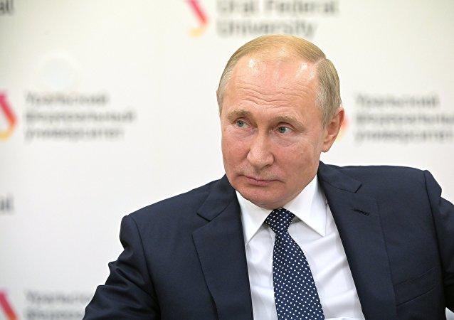 美國白宮:特朗普與普京討論美俄貿易關係