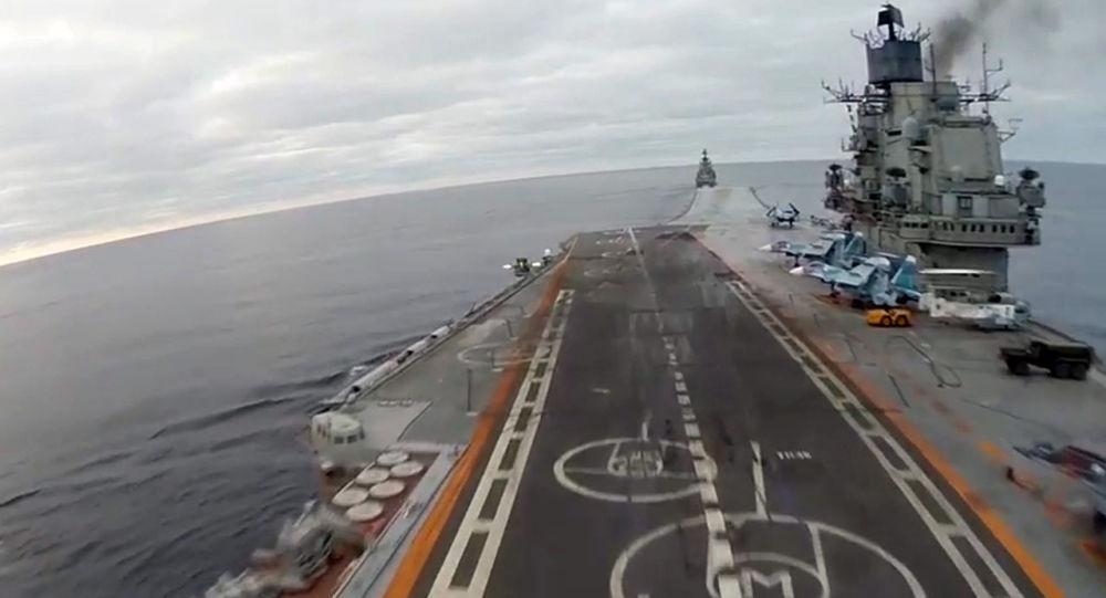 俄新航母研制方預計將與國防部簽署預先設計合同