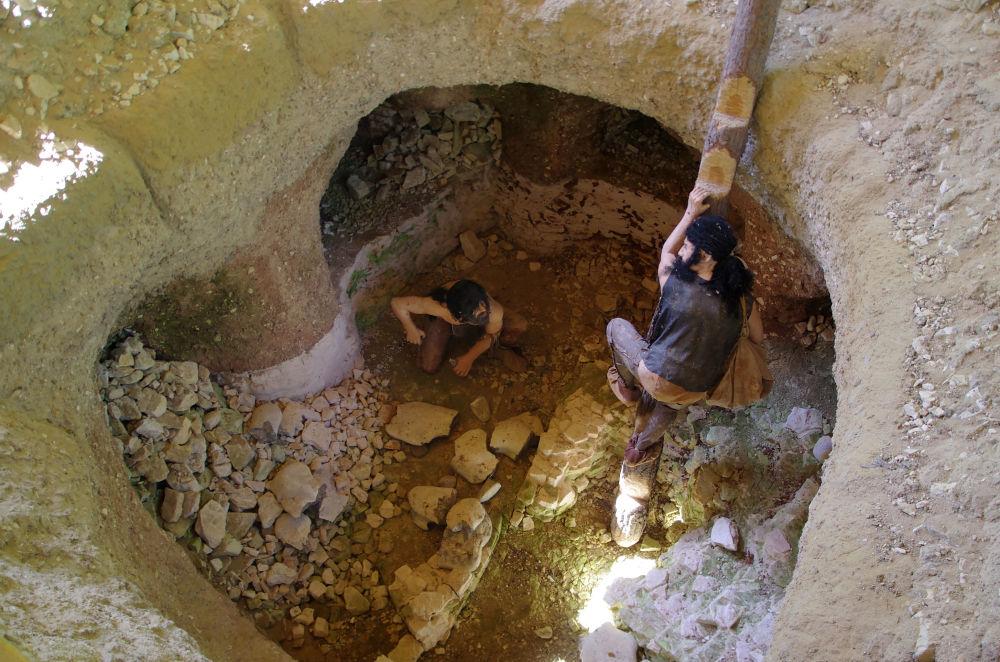 歐洲石器時代最大的燧石礦Kshemienki Opatovskie