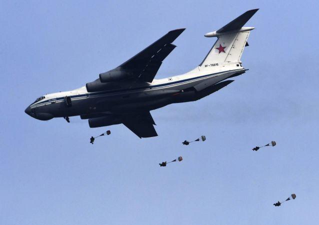 俄羅斯空降兵自年初起完成逾17萬次傘降