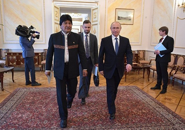 普京:不能容忍干涉委內瑞拉事務是俄羅斯和玻利維亞的共同立場