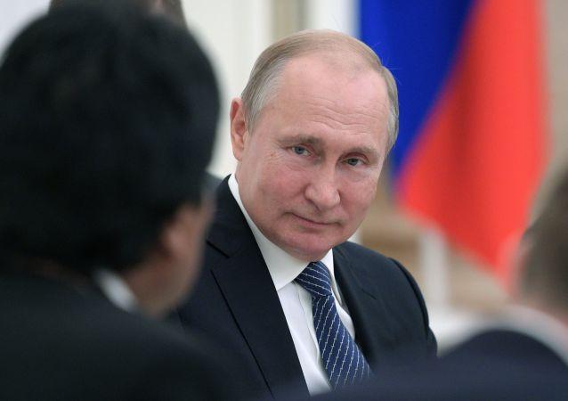 普京表示俄方願促使巴以恢復和談