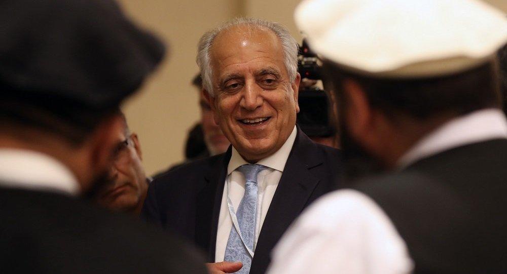 美國阿富汗問題特使扎爾梅·哈利勒扎德