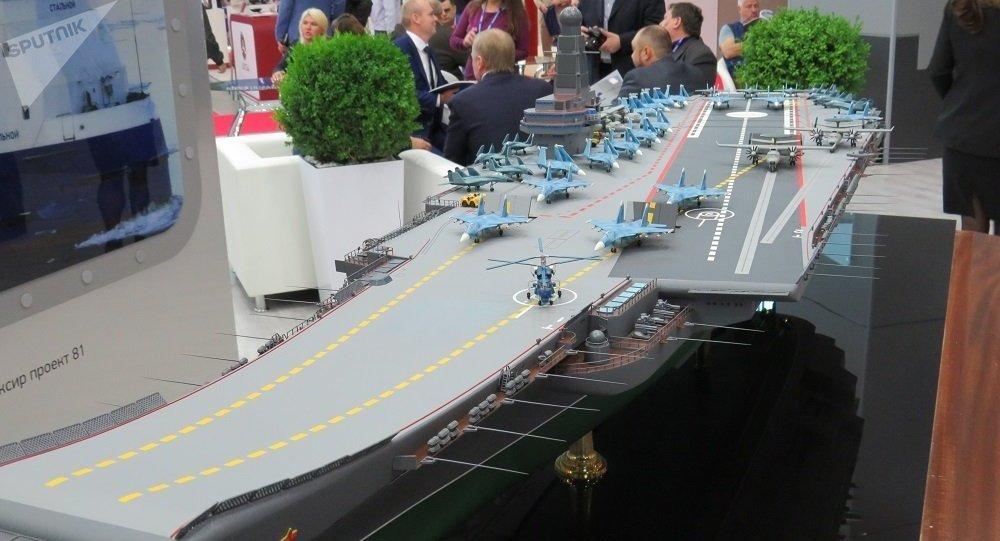 俄羅斯或將建造新型核動力航母
