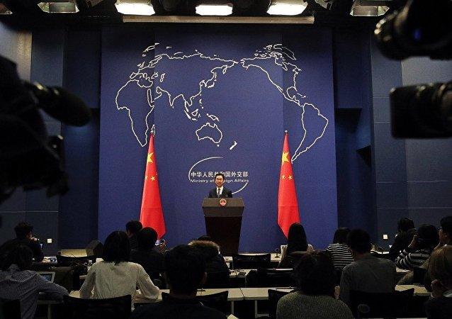 中國外交部(資料圖片)