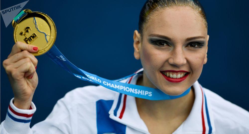 俄羅斯奧運花游冠軍斯韋特蘭娜·科列斯尼琴科