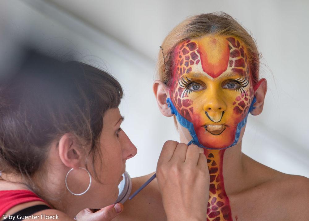 奧地利世界人體彩繪節