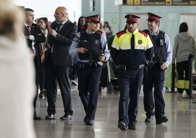 巴塞羅那警察