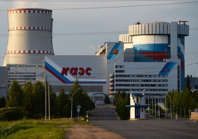 Калининская АЭС в городе Удомля Тверской области