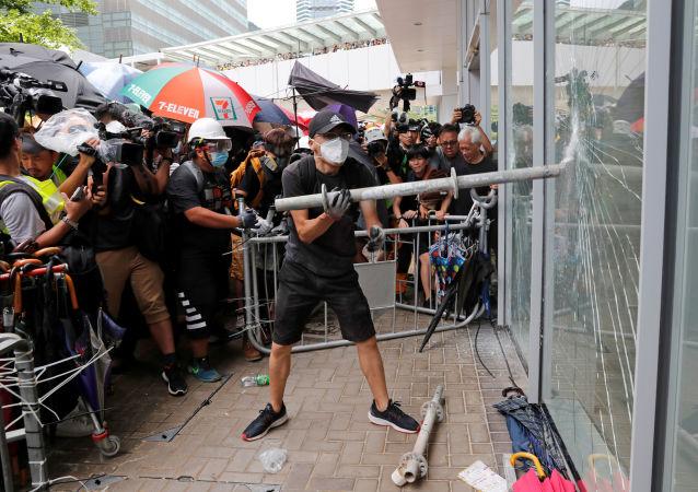 媒體:中國正在制定香港問題應急計劃