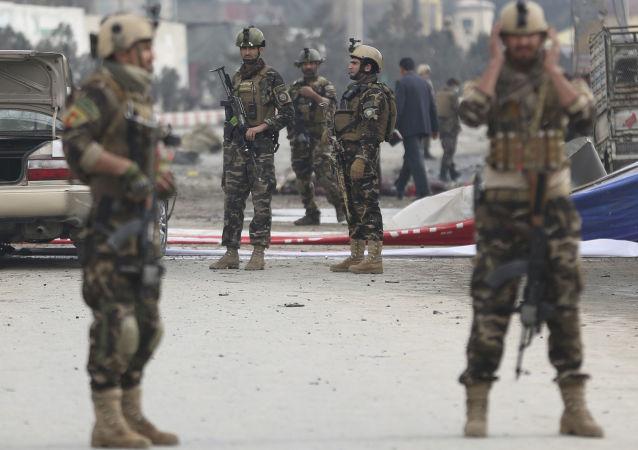 阿富汗警察員(資料圖片)