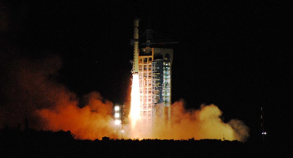 中國快舟一號成功發射兩顆衛星