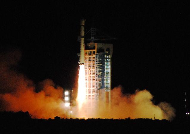 中國量子衛星發射