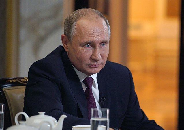 普京:俄羅斯非常擔心美國和伊朗之間的對峙