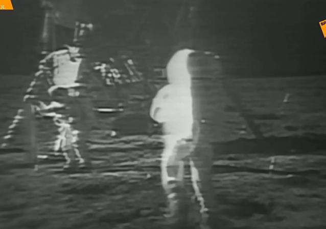 鏡頭回顧:50年前人類首次登月