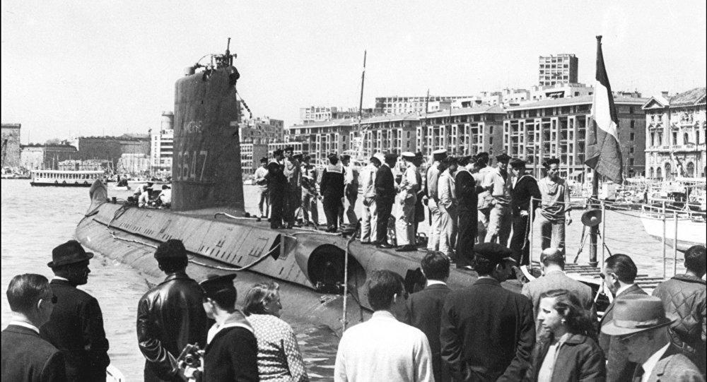 一艘失蹤半個世紀的法國潛艇現身