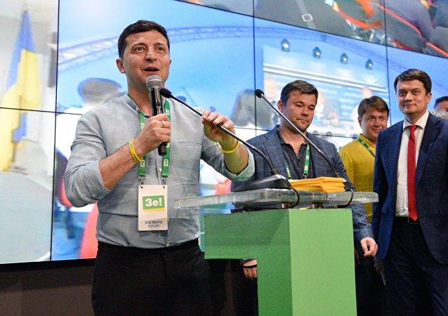 烏議會選舉計票75%澤連斯基領導的人民公僕黨得票率42%