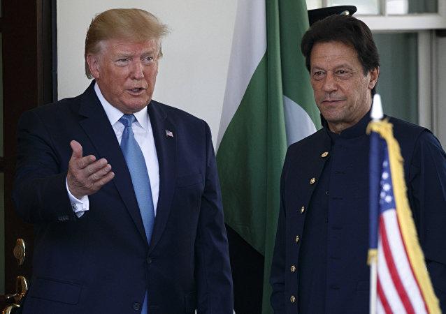 巴基斯坦總理同意特朗普為同印度關係正常化進行調解